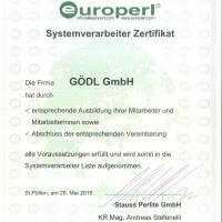 Zertifikat Europerl